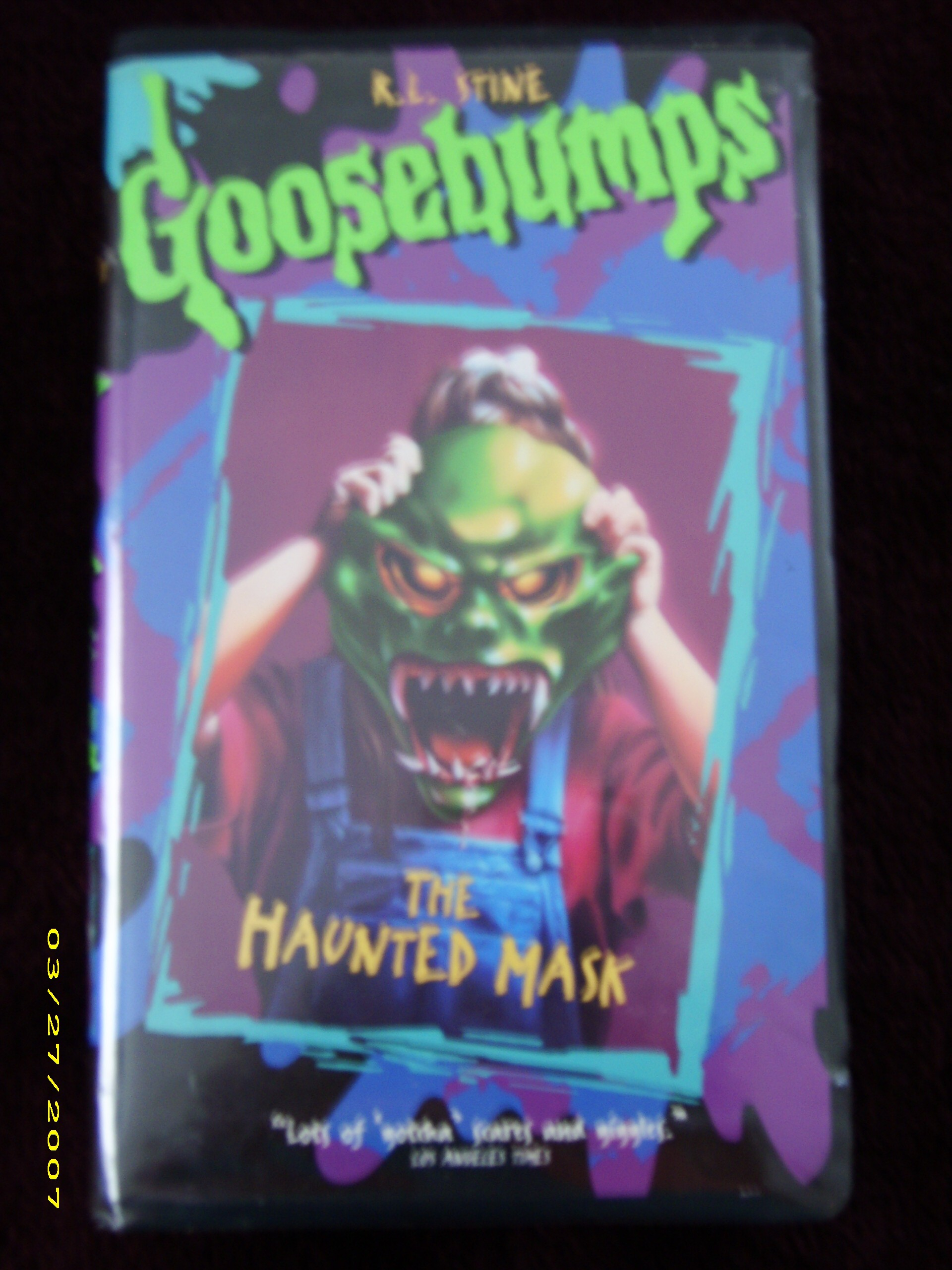 goosebumps stay out of the basement movie the